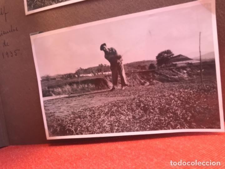 Fotografía antigua: golf 23 fotografias antiguas campo de golf de negury y chiberta golfistas españoles mujeres club - Foto 14 - 166329590