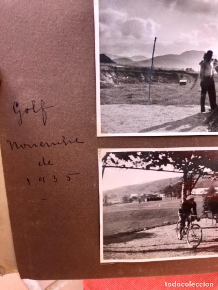 Fotografía antigua: golf 23 fotografias antiguas campo de golf de negury y chiberta golfistas españoles mujeres club - Foto 17 - 166329590