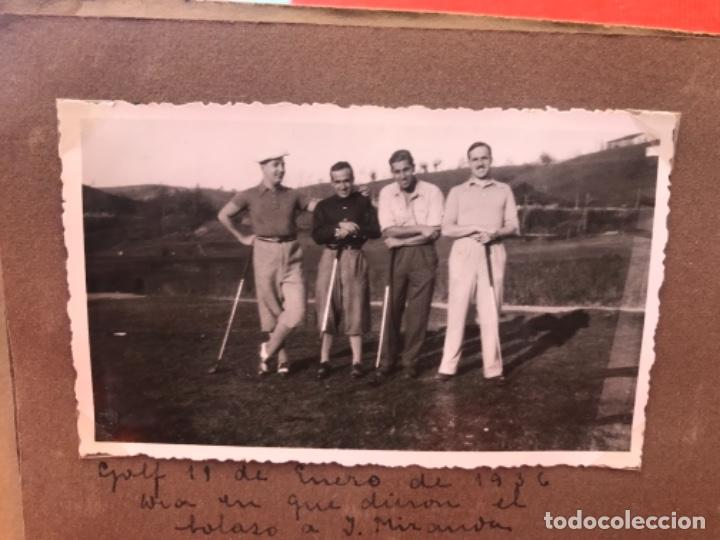 Fotografía antigua: golf 23 fotografias antiguas campo de golf de negury y chiberta golfistas españoles mujeres club - Foto 24 - 166329590