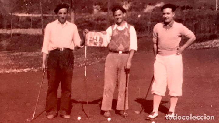 Fotografía antigua: golf 23 fotografias antiguas campo de golf de negury y chiberta golfistas españoles mujeres club - Foto 30 - 166329590