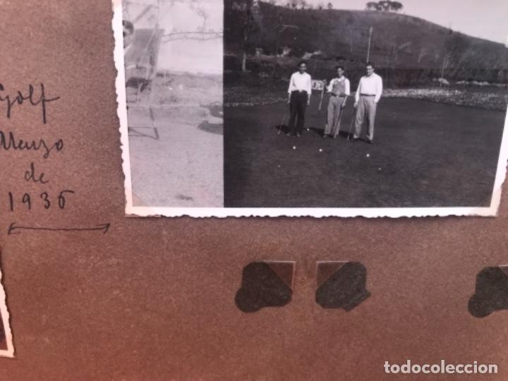 Fotografía antigua: golf 23 fotografias antiguas campo de golf de negury y chiberta golfistas españoles mujeres club - Foto 34 - 166329590