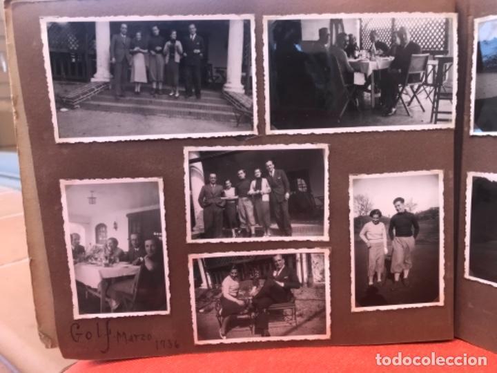 Fotografía antigua: golf 23 fotografias antiguas campo de golf de negury y chiberta golfistas españoles mujeres club - Foto 37 - 166329590