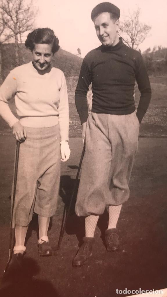 Fotografía antigua: golf 23 fotografias antiguas campo de golf de negury y chiberta golfistas españoles mujeres club - Foto 44 - 166329590