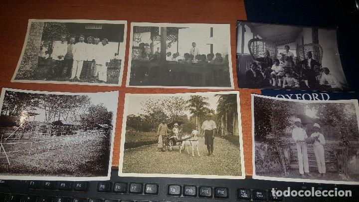 31 FOTOGRAFIAS ANTIGUAS TOMADAS EN JAVA, DJASINGA, CON NATIVOS, AÑOS 30 (Fotografía Antigua - Ambrotipos, Daguerrotipos y Ferrotipos)