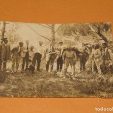 Fotografía antigua: ANTIGUA FOTOGRAFÍA EN BLANCO Y NEGRO - EXCURSIÓN EN CAMPO DE VALENCIA - AÑO 1920-30S.. Lote 167057916