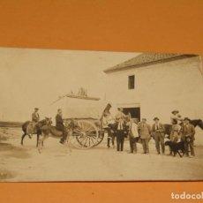 Fotografía antigua: ANTIGUA FOTOGRAFÍA EN BLANCO Y NEGRO - ALQUERÍA EN CAMPO DE VALENCIA - AÑO 1920-30S.. Lote 167058348