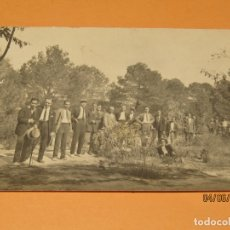 Fotografía antigua: ANTIGUA FOTOGRAFÍA EN BLANCO Y NEGRO - PINADA EN CAMPO DE VALENCIA - AÑO 1920S.. Lote 167058588