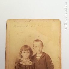 Fotografía antigua: ANTIGUA FOTOGRAFIA HERMANOS, SIGLO XIX.AUSTRIA. Lote 170393524