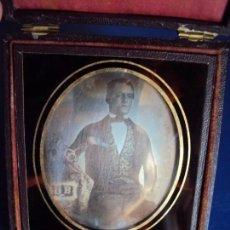 Fotografía antigua: (ANT-190724)DAGUERROTIPO CABALLERO ESPAÑOL. Lote 171491317