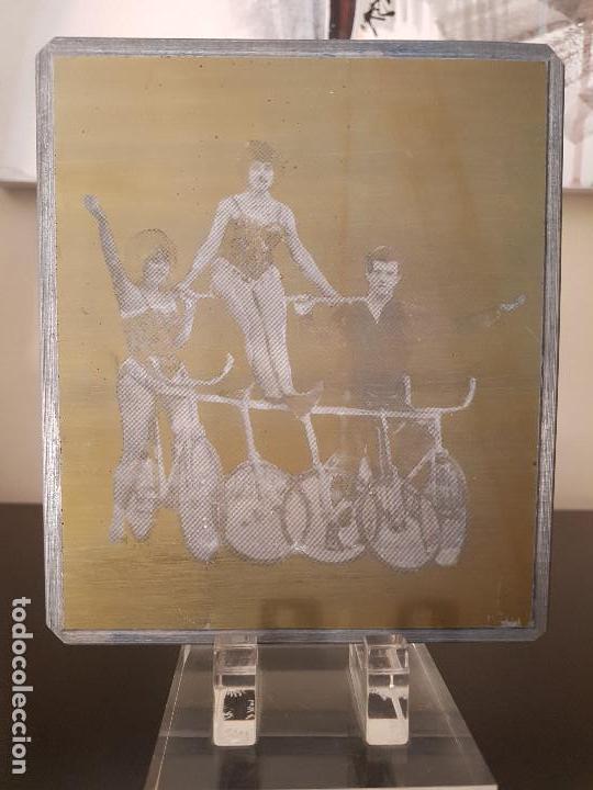 Fotografía antigua: Placa Fotográfica o Ferrotipo - Foto 3 - 172103737
