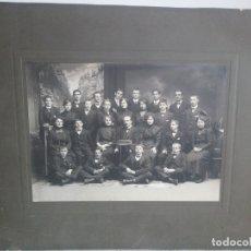 Fotografía antigua: ANTIGUA FOTOGRAFÍA FAMILIAR ,FAMILIA ADINERADA ,SIGLO XIX. BLANCO Y NEGRO. Lote 173904142