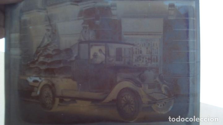 Fotografía antigua: 4 placas de cristal buen tamaño 25cm por 18cm 2 camiones aceitera del norte s.l almacen de patatas - Foto 2 - 175455142