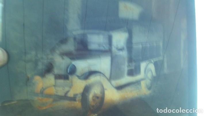 Fotografía antigua: 4 placas de cristal buen tamaño 25cm por 18cm 2 camiones aceitera del norte s.l almacen de patatas - Foto 5 - 175455142