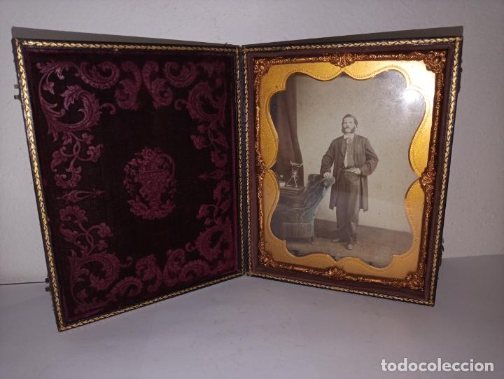 Fotografía antigua: Curioso daguerrotipo siglo XIX - Foto 2 - 177504638