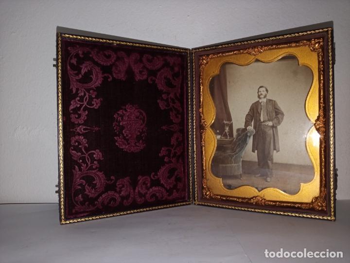Fotografía antigua: Curioso daguerrotipo siglo XIX - Foto 3 - 177504638