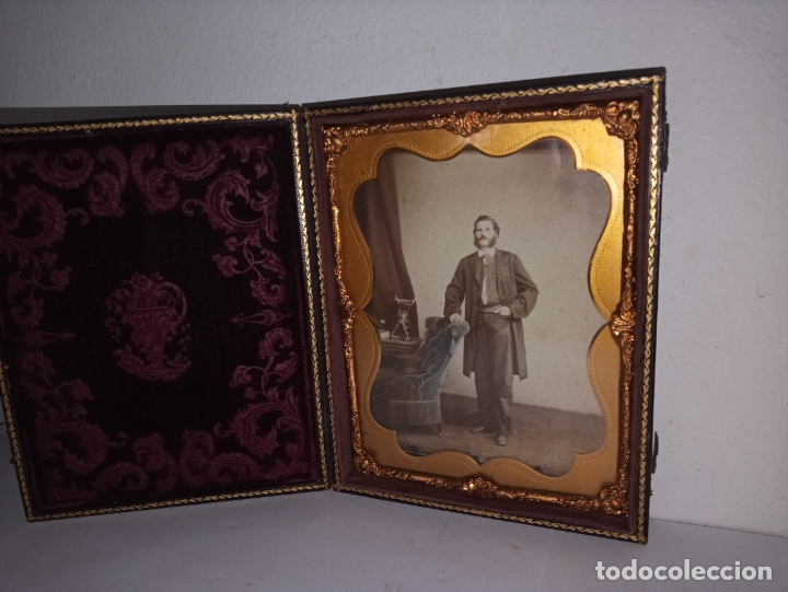 Fotografía antigua: Curioso daguerrotipo siglo XIX - Foto 10 - 177504638