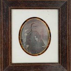 Fotografía antigua: FOTOGRAFÍA DE HOMBRE. DAGUERROTIPO. BROMURO DE PLATA. SIGLO XIX-XX. . Lote 182356672