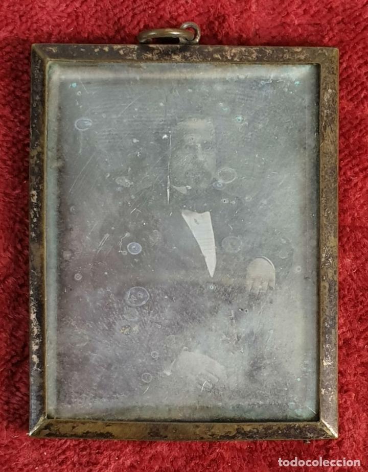 Fotografía antigua: FOTOGRAFÍA DE CABALLERO. DAGUERROTIPO. CAJA ORIGINAL. SIGLO XIX. - Foto 2 - 183258711