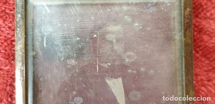 Fotografía antigua: FOTOGRAFÍA DE CABALLERO. DAGUERROTIPO. CAJA ORIGINAL. SIGLO XIX. - Foto 7 - 183258711