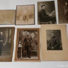 Fotografía antigua: FOTOPOSTALES MILITARES. Lote 183309766