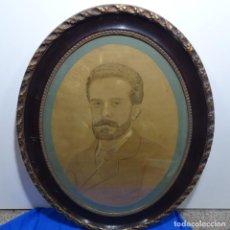 Fotografía antigua: ANTIGUA FOTOGRAFÍA DEL SIGLO XIX ENMARCADA.. Lote 185745672