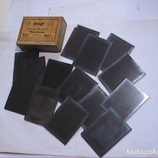 Fotografía antigua: LOTE DE 14 PLACAS NEGATIVOS EN CRISTAL. BOURG-MADAME. 1920-30. CRISTALES HAUFF.. Lote 186061607
