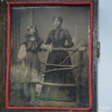 Fotografía antigua: DAGUERROTIPO SIGLO XIX.. Lote 190429933