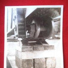 Fotografía antigua: FOTO LORA DEL RIO SEVILLA MONTAJE DL PUENTE SOBRE EL GUADALQUIVIR NOVIEMBRE 1929. Lote 191113607