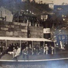 Fotografía antigua: FOTO DE SAN ESTEBAN DE PRAVIA ATURIAS , MARZO 1930. Lote 191194555
