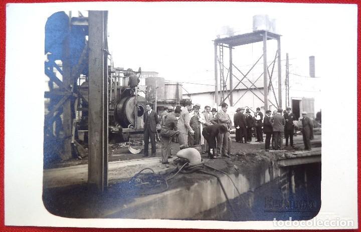 FOTO CADIZ , EN EL PUERTO 1929, FOTO REYMUNDO (Fotografía Antigua - Ambrotipos, Daguerrotipos y Ferrotipos)