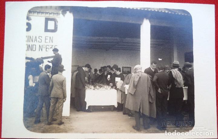 FOTO CADIZ , PABELLON DE HIDRO CIVIL? 1929, FOTO REYMUNDO (Fotografía Antigua - Ambrotipos, Daguerrotipos y Ferrotipos)