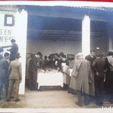 Fotografía antigua: FOTO CADIZ , PABELLON DE HIDRO CIVIL? 1929, FOTO REYMUNDO. Lote 192820512