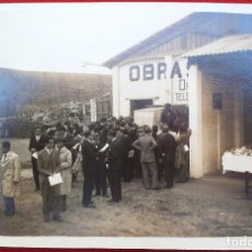 Fotografía antigua: FOTO CADIZ , PABELLON DE HIDRO CIVIL? 1929, FOTO REYMUNDO. Lote 192820631