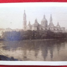 Fotografía antigua: FOTO ZARAGOZA 1928. Lote 192823813