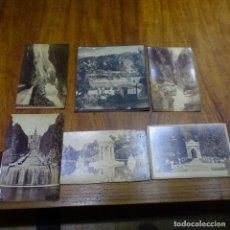 Fotografía antigua: 6 FOTOGRAFÍAS EN CARTÓN DURO PRINCIPIO SIGLO XX.. Lote 194146657