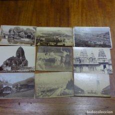 Fotografía antigua: 9 FOTOGRAFÍAS EN CARTÓN DURO PRINCIPIO SIGLO XX.. Lote 194146793