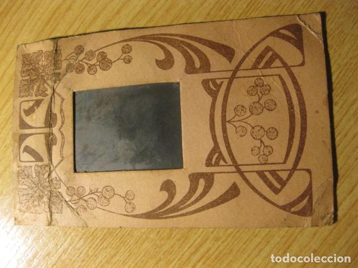 Fotografía antigua: bonita postal portaretrato año 1911 con fotografia niños . foto ( desteñida) - Foto 2 - 195054275