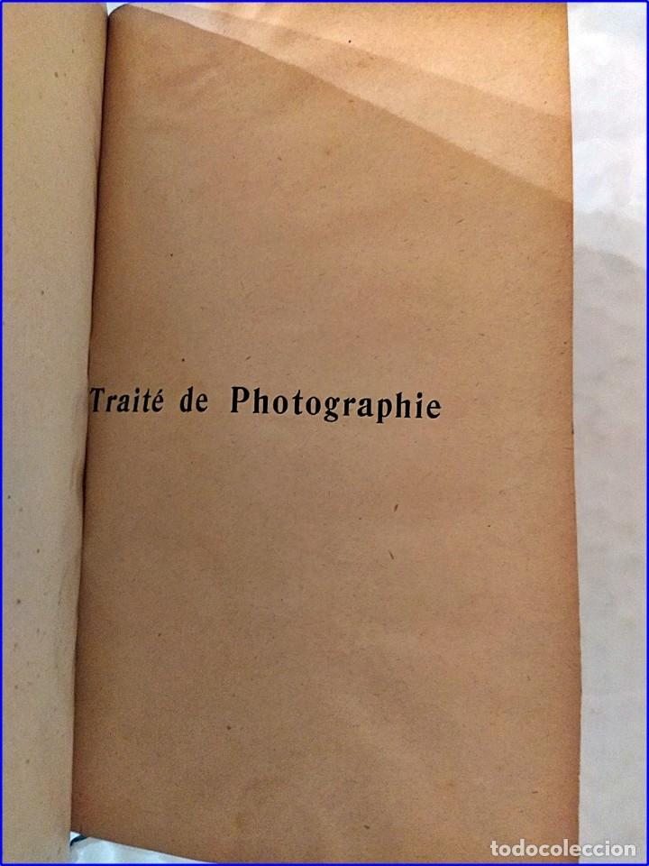 Fotografía antigua: Tratado de fotografía. libro del siglo xix. - Foto 2 - 195514678