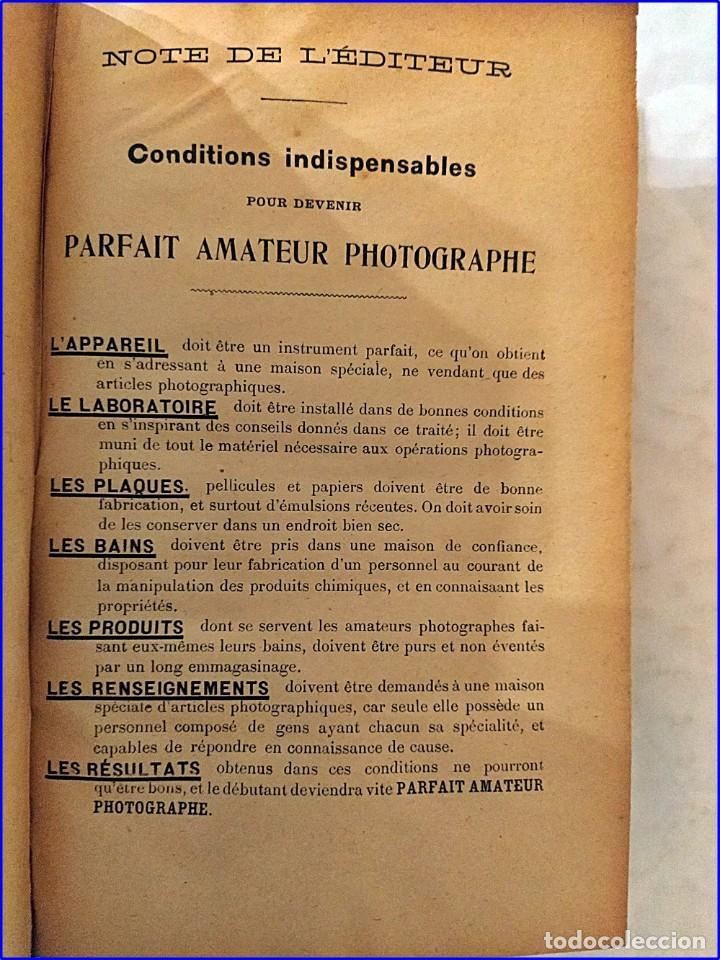 Fotografía antigua: Tratado de fotografía. libro del siglo xix. - Foto 3 - 195514678