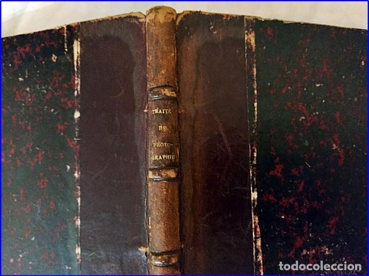 Fotografía antigua: Tratado de fotografía. libro del siglo xix. - Foto 6 - 195514678
