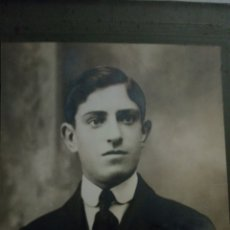 Fotografía antigua: FOTOGRAFÍA GRAN TAMAÑO FIRMADA MUÑOZ. Lote 195528237