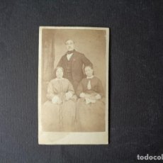 Fotografía antigua: TARJETA DE VISITA EN ALBUMINA. Lote 196104862