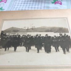 Fotografía antigua: BONITA FOTOGRAFÍA ANTIGUA, PERSONAJES IMPORTANTES DE LA ÉPOCA. Lote 197906155