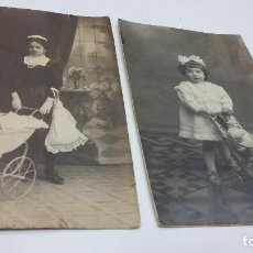 Fotografía antigua: COLECCION N 3 DE 2 FOTOGRAFIAS ESTUDIO . Lote 197950146