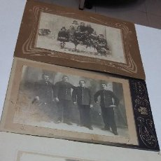 Fotografía antigua: COLECCION N 12 DE 3 FOTOGRAFIAS ANTIGUAS DAGUEROTIPO SOBRE CARTON DURO. Lote 197994890
