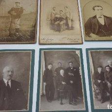 Fotografía antigua: COLECCION N 15 DE 6 FOTOGRAFIAS ANTIGUAS DAGUEROTIPO SOBRE CARTON DURO. Lote 198012921