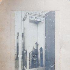 Fotografía antigua: ZARAGOZA.EXPOSICION HISPANO FRANCESA. 1908. FOTO COINE. Lote 198460502