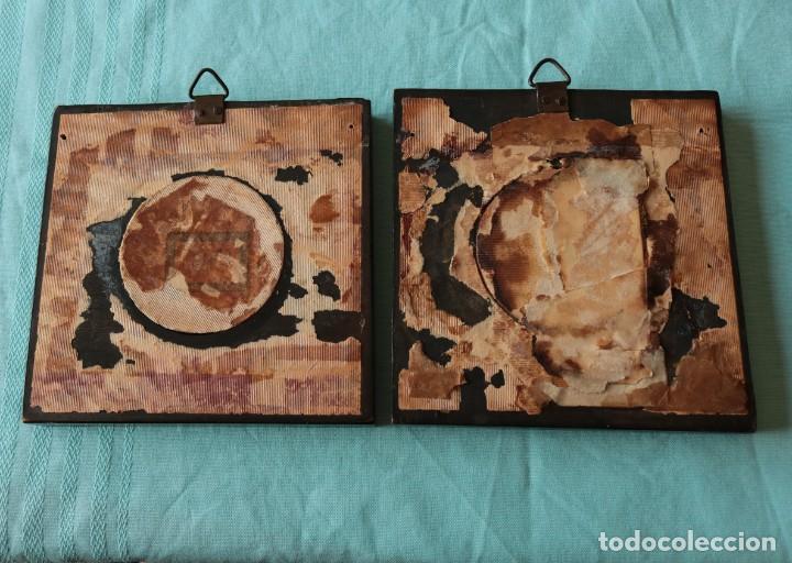 Fotografía antigua: Pareja de fotografías repintadas. Pair of Ambrotype photographs. - Foto 6 - 204426091
