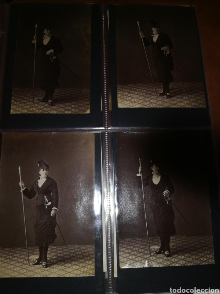 Fotografía antigua: FOTOS ORIGINALES CARNAVAL DE BARCELONA DE 1870 FOTOGRAFO ESPLUGAS 45 FOTOGRAFIAS - Foto 5 - 210695306