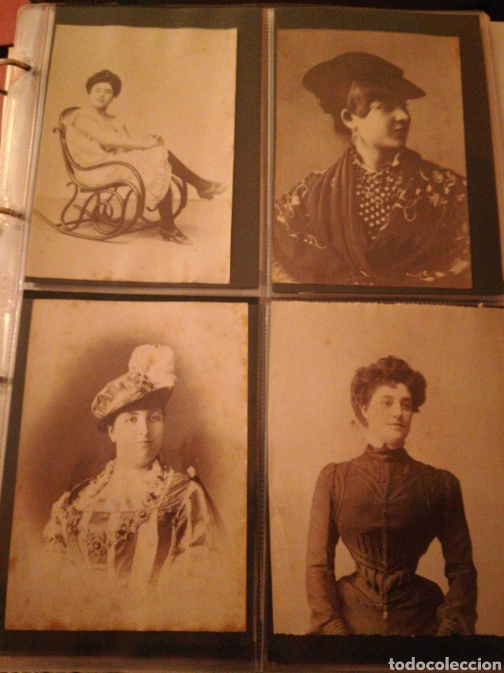 FOTOGRAFIAS MUJERES ENTRE 1860-1880 FOTOGRAFO ESPLUGAS ORIGINALES 46 FOTOS (Fotografía Antigua - Ambrotipos, Daguerrotipos y Ferrotipos)